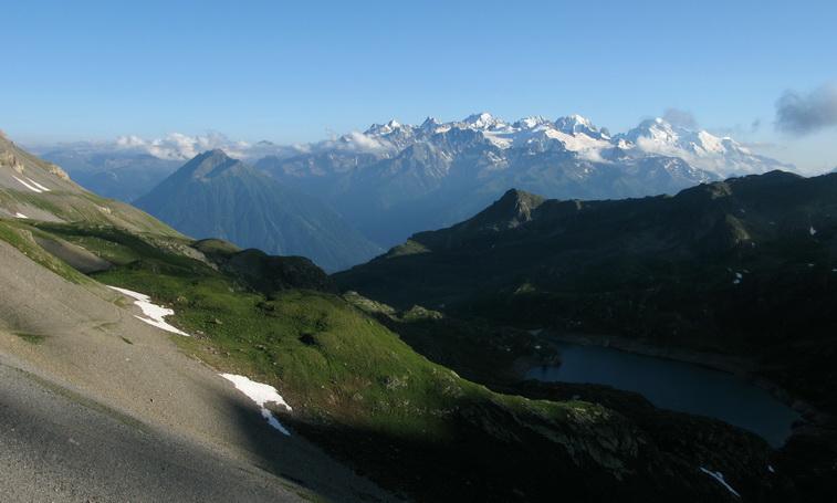 Mont Blanc (4 juillet, 19h45)