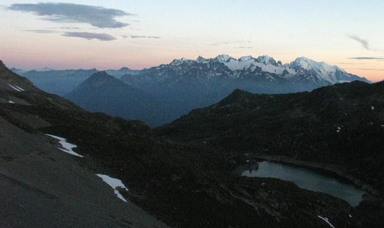 Mont Blanc (4 juillet, 21h23)