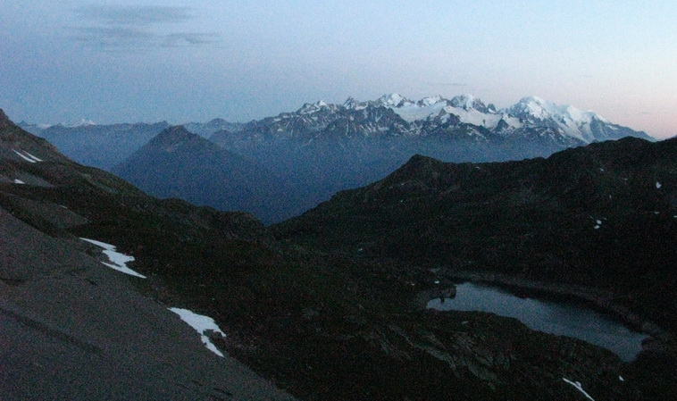 Mont Blanc (4 juillet, 21h41)