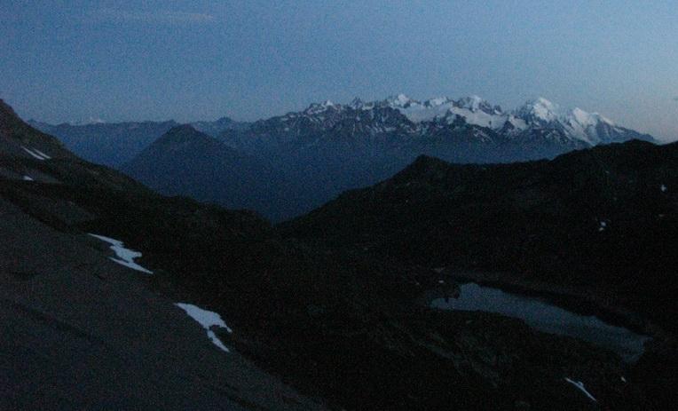 Mont Blanc (4 juillet, 22h25)