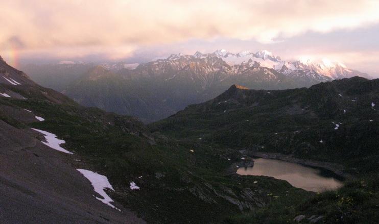 Mont Blanc (1er juillet, 21h16)