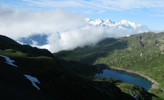 Mont Blanc (4 juillet, 8h30)